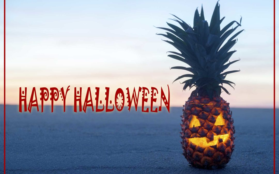 How to Make Your Own Pineapple Jack-O-Lantern
